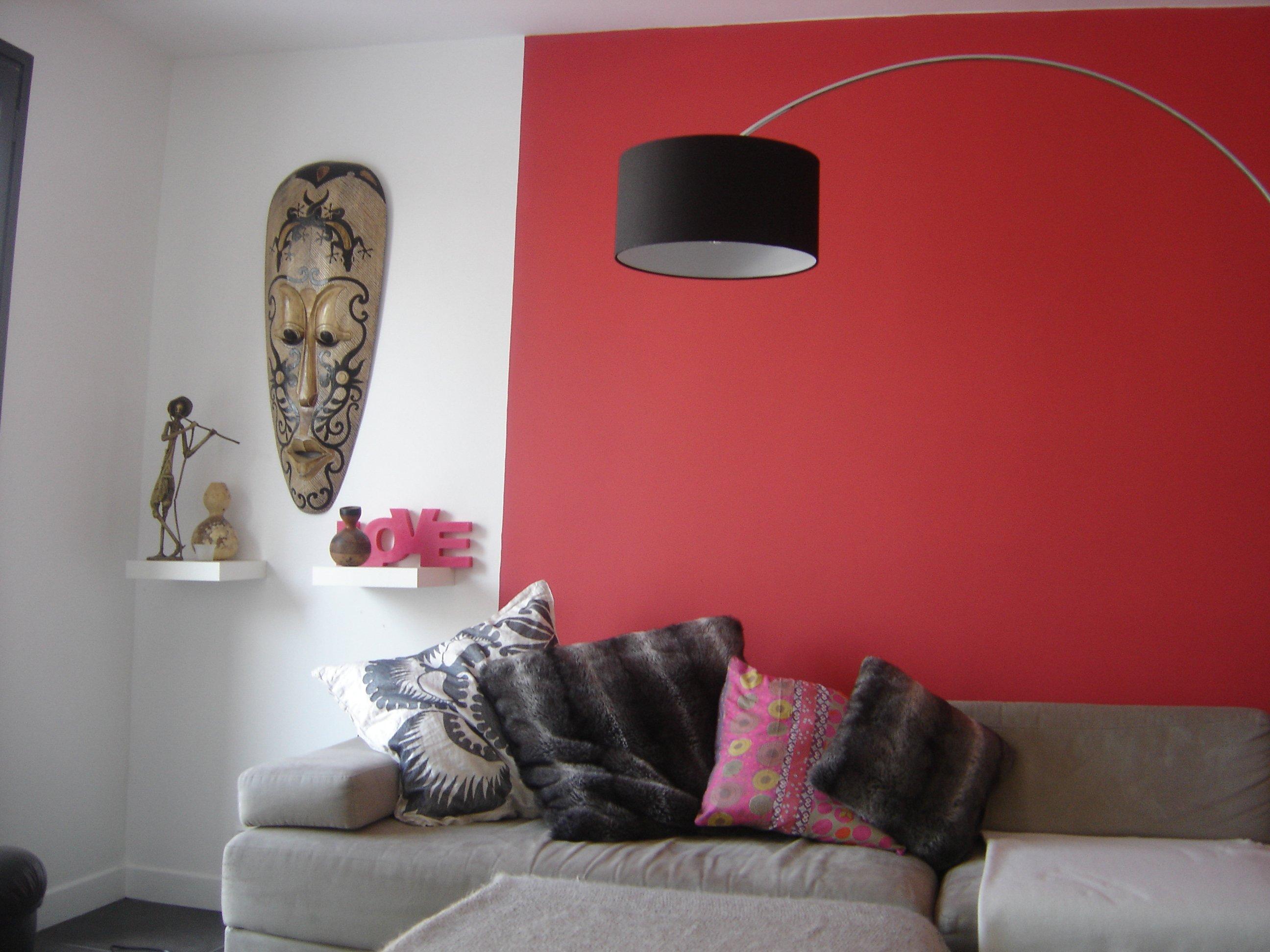 Peindre son salon en deux couleurs id e for Meubles nuances montreal